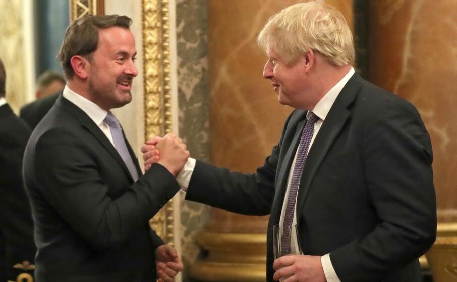 con il primo ministro del lussemburgo xavier bettel