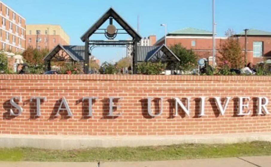 l ingresso dell universit (foto twitter)