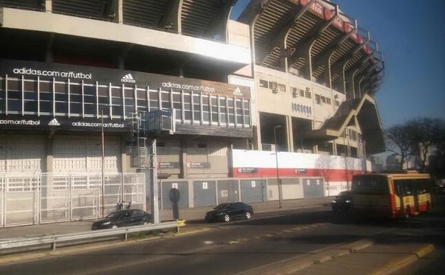 lo stadio monumental del river plate (foto google maps)