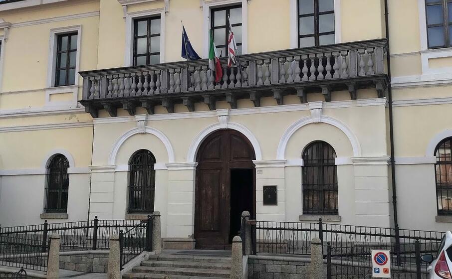 il municipio di san vito (archivio l unione sarda)