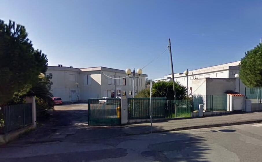le scuole medie di mogoro in via murenu (foto a pintori)