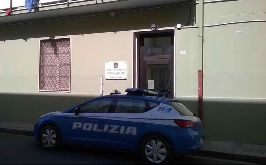 polizia a quartu (archivio l unione sarda)