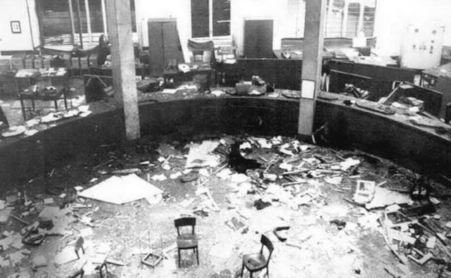 un immagine dopo la tragica deflagrazione (archivio l unione sarda)