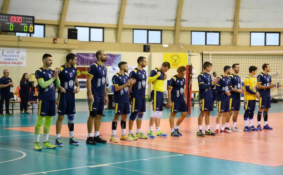 la squadra del sarroch terza in serie b maschile (foto della societ )