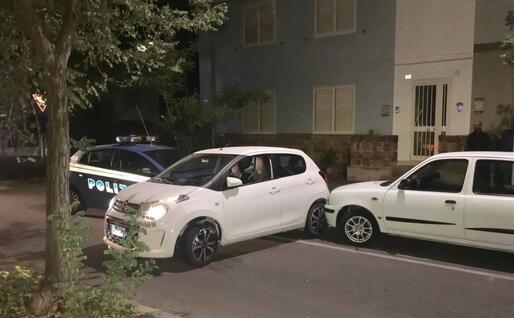 Le auto coinvolte (L'Unione Sarda - Murru)