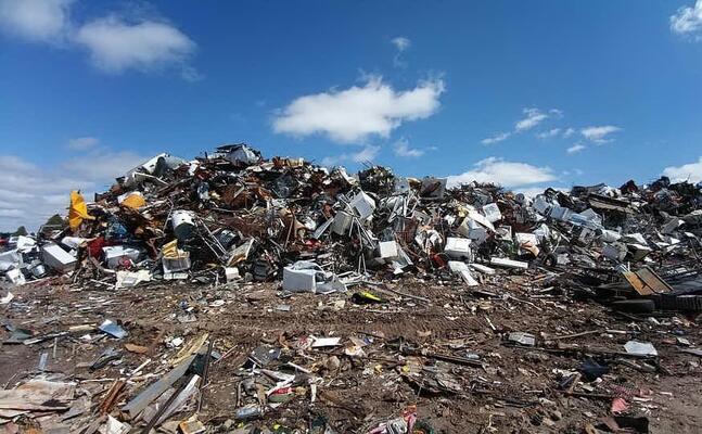 una discarica (foto pixabay)