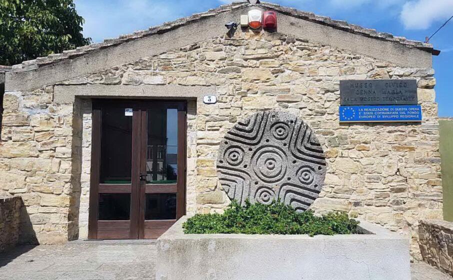 la sala mostre temporanee del museo genna maria (l unione sarda foto pintori)