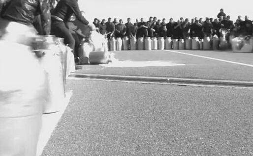 Pastori in protesta (foto da frame video)