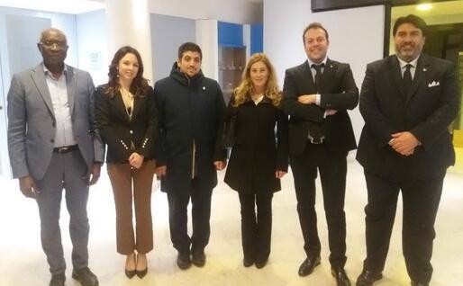 Da sinistra: Tony Iwobi, Rosalba Cimino, Filippo Giuseppe Perconti, Elena Testor, Eugenio Zoffili e Christian Solinas (foto L.P.)