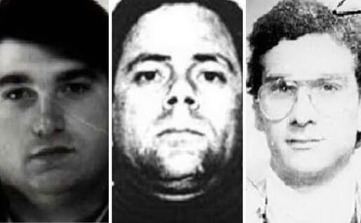 Giovanni Motisi, Attilio Cubeddu e Matteo Messina Denaro (foto Interpol)