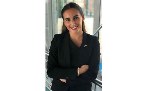 Un'altra foto di Claudia, a Dubai (Foto concessa)