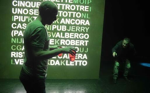 Un'immagine dallo spettacolo (foto di Luca del Pia)