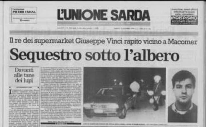 accaddeoggi 9 dicembre 1994 il sequestro di giuseppe vinci