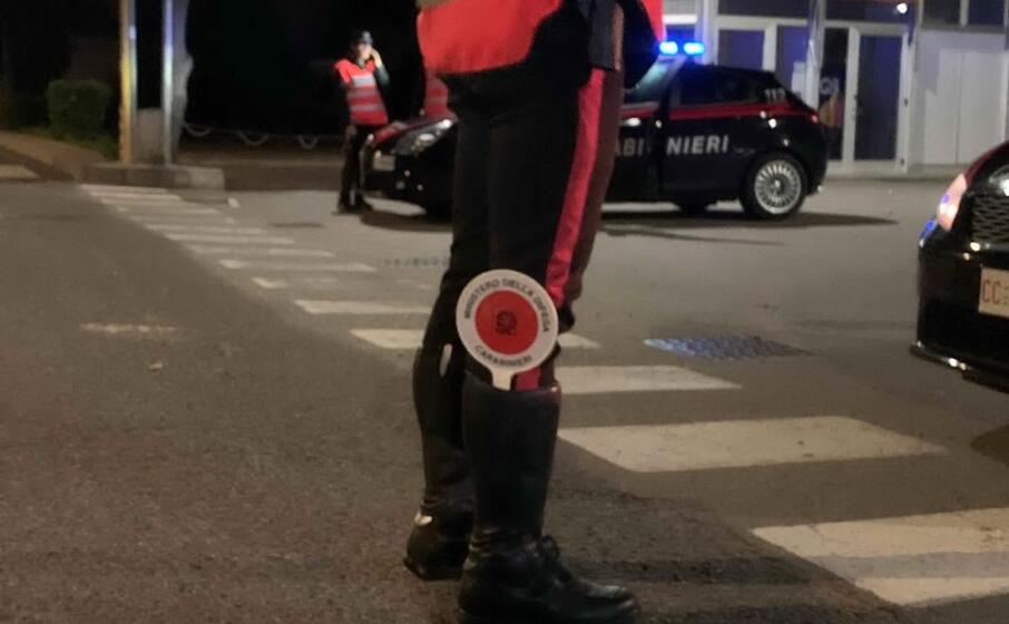 i carabinieri in azione (foto a serreli)