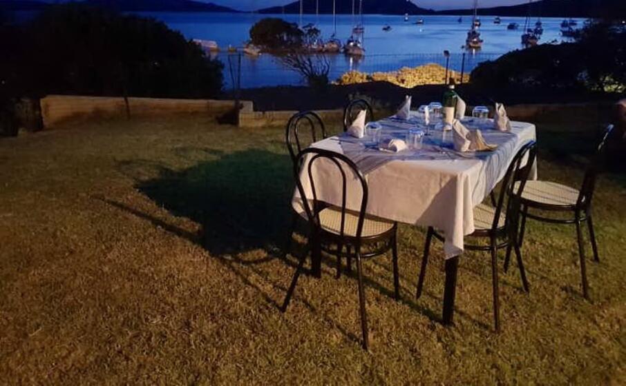 il ristorante di cala reale (foto mariangela pala)