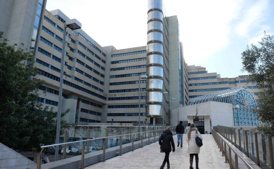 l ospedale brotzu di cagliari (foto massimo ledda)