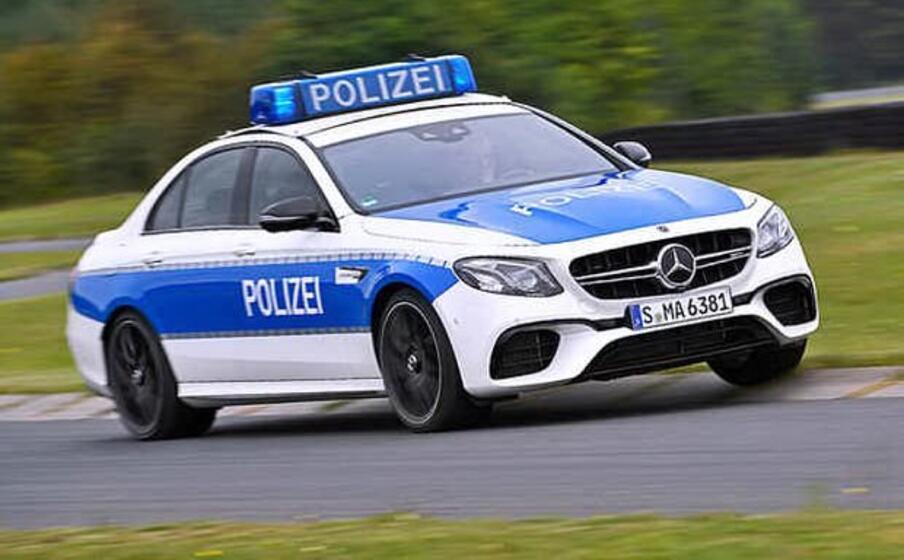 la polizia tedesca (ansa)
