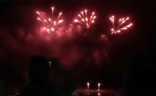 fuochi d artificio (archivio l unione sarda sanna)