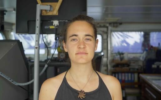 La comandante Carola Rackete (Ansa)