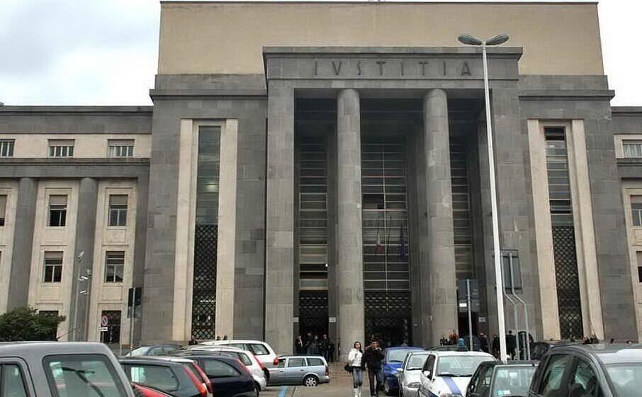 il palazzo di giustizia di cagliari (archivio l unione sarda)