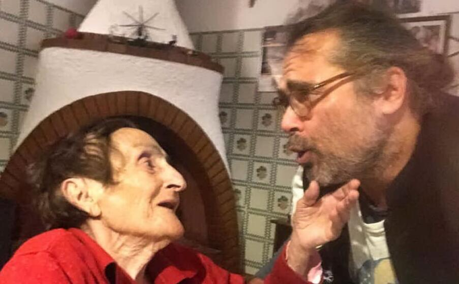 la foto pubblicata da yari carrisi insieme alla nonna (da instagram)