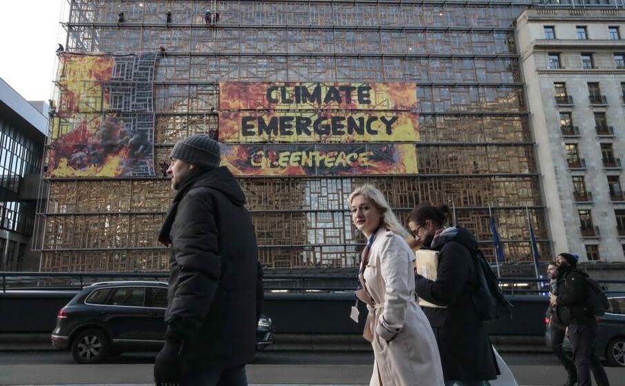 eclatante la protesta dell associazione ambientalista