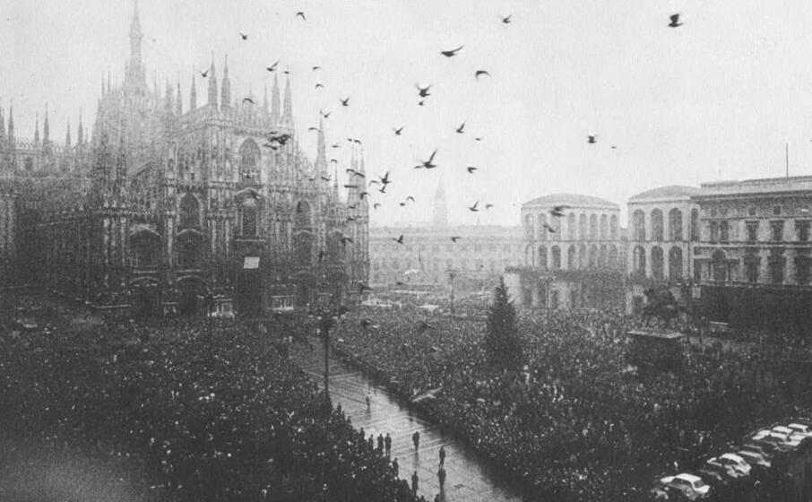 i funerali delle vittime della strage a milano