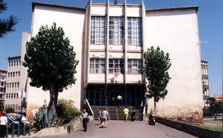 il tribunale di oristano (archivio l unione sarda mario solinas)
