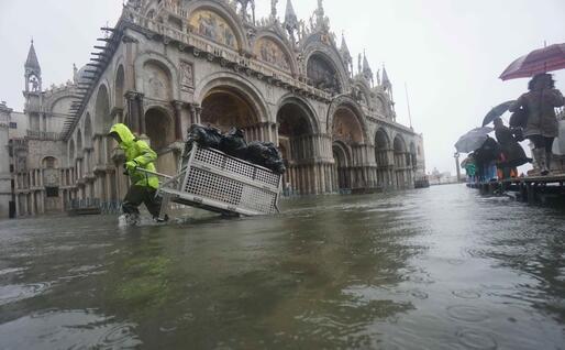 La situazione a Venezia (Ansa)