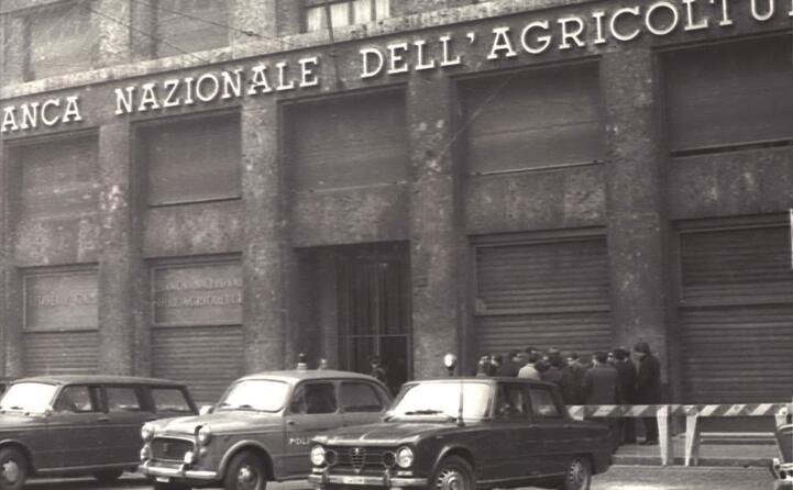 una foto d archivio dell esterno della banca nazionale dell agricoltura
