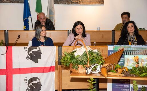 """Il sindaco Daniela Ballico (foto """"Grazia Deledda"""")"""