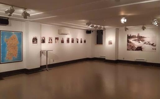 Un'altra immagine dall'esposizione (foto Biblioteca di Sardegna)