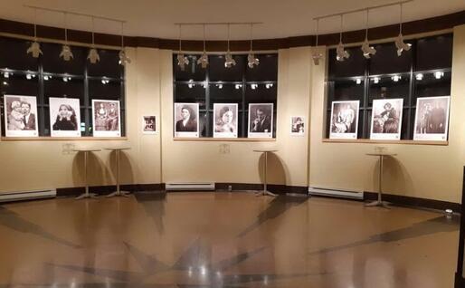 Un'immagine dalla mostra (foto Biblioteca di Sardegna)