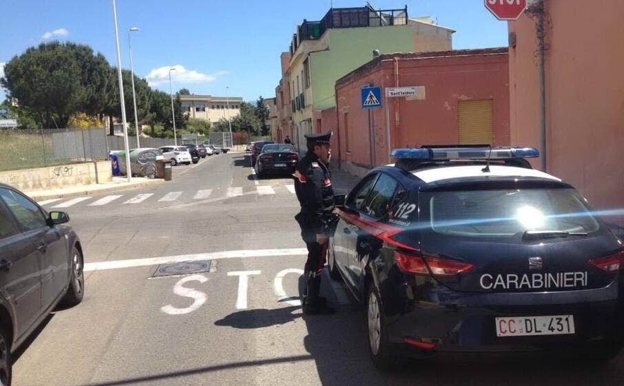 carabinieri a pirri (archivio l unione sarda)