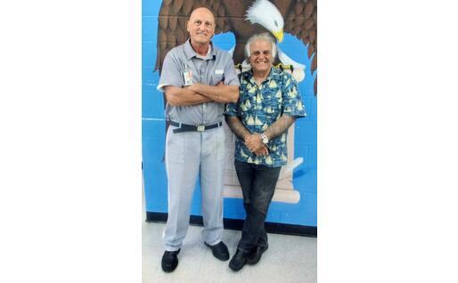 Chico Forti e Roberto Fodde (foto inviata dall'intervistato)