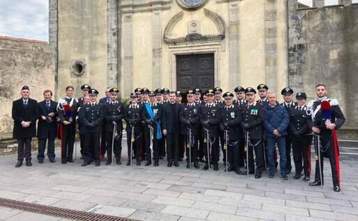 I carabinieri di Mogoro (foto L'Unione Sarda - Pintori)