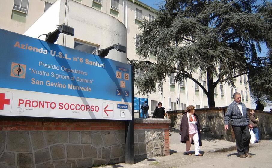 l ospedale di san gavino (archivio l unione sarda nonnis)