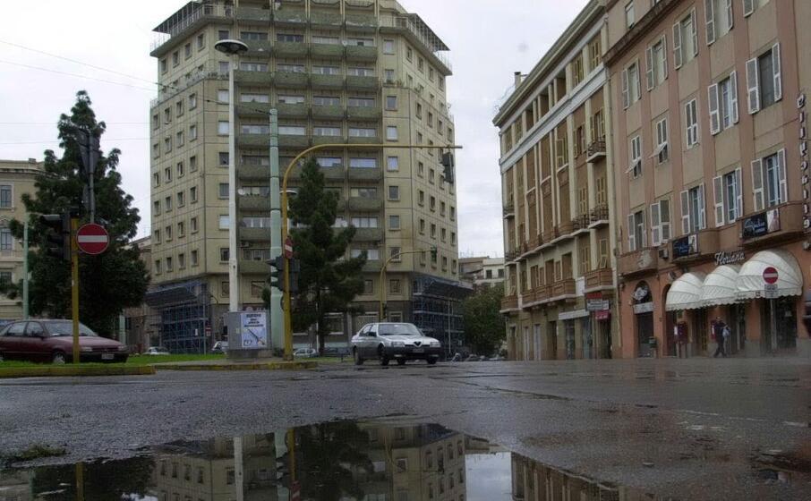 la zona di piazza garibaldi (archivio l unione sarda)