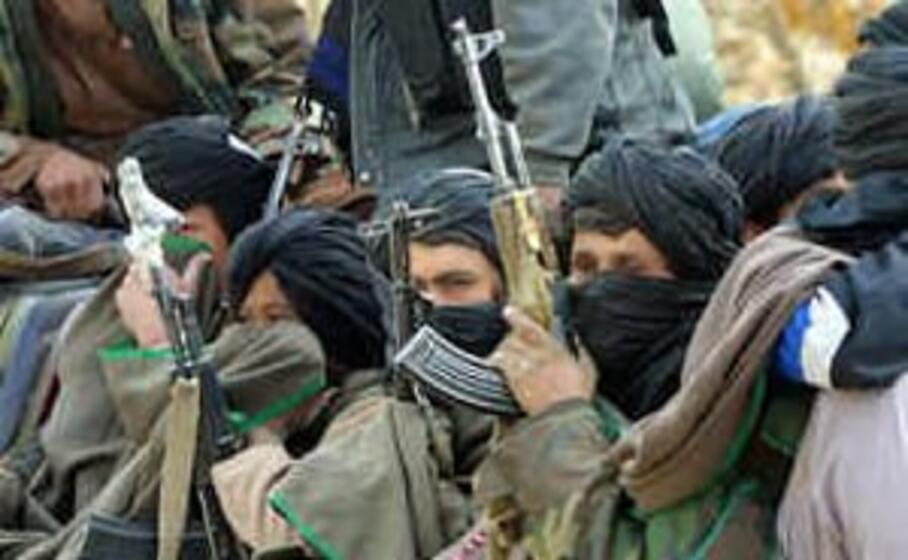 miliziani talebani (archivio l unione sarda)