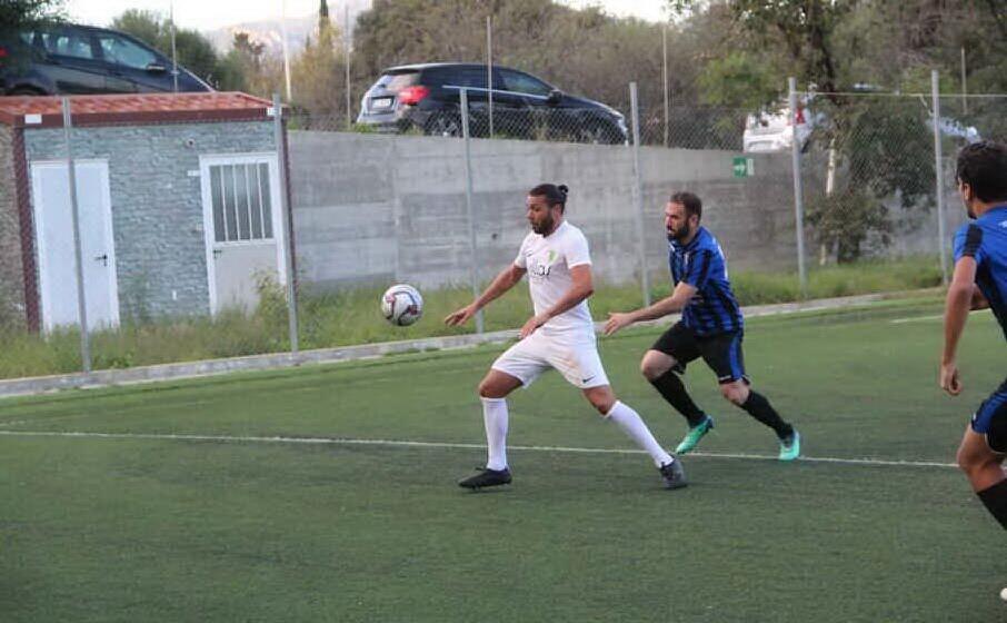 mauro ragatzu (nuorese) due gol a ghilarza (foto andrea serreli)