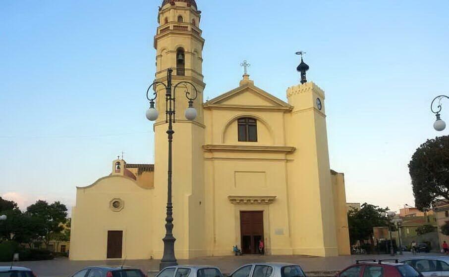 la basilica (archivio l unione sarda)