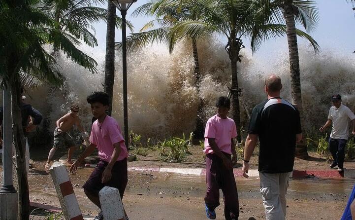 un terremoto di magnitudo 9 1 scatena uno tsunami di proporzioni devastanti
