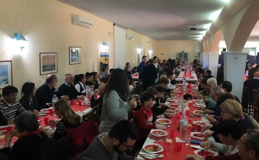 Villaputzu: il pranzo di Natale della comunità di Sant'Egidio