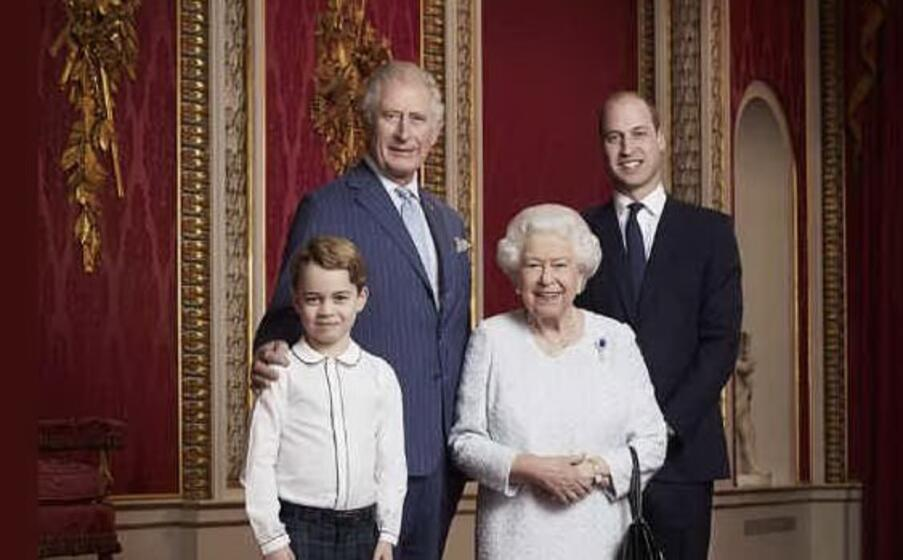 Gb: Elisabetta ei suoi tre eredi, foto per nuovo decennio