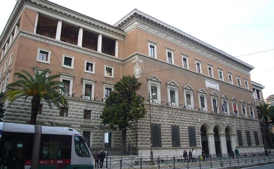 la sede del ministero della giustizia a roma (foto wikipedia)