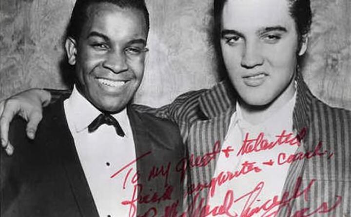 billy ward ed elvis presley nel 1955
