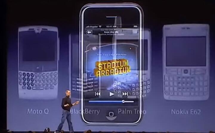accaddeoggi 9 gennaio 2007 ecco il nuovo i phone