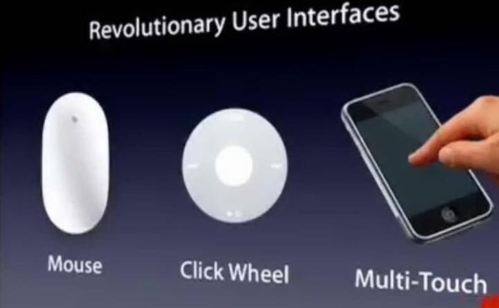 introduce per la prima volta il sistema touch