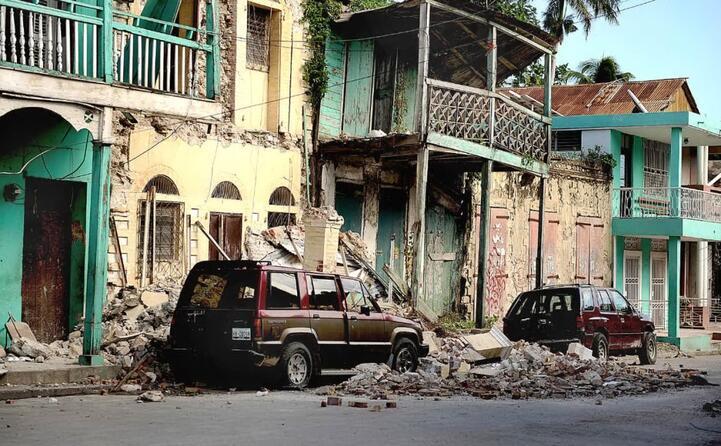 edifici distrutti a jacmel