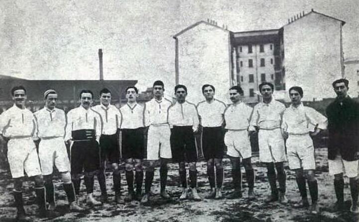 l esordio assoluto della nazionale in maglia bianca